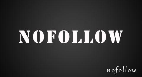 nofollow标签