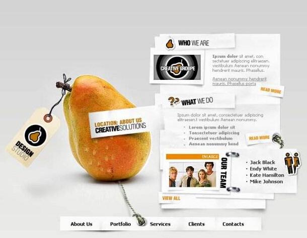 极简风格网页设计的3个方法解析