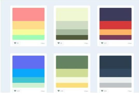 商城网站建设 配色类别值的注意