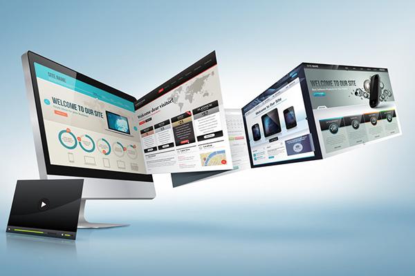 设计企业网站可以套用模版搭建吗